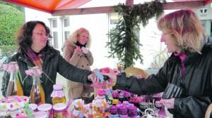 Ein reiches Angebot an Selbstgemachtem, Schönem und Köstlichem gab es auch dieses Jahr am Gottlieber Adventsmarkt. Bild: Martin Bächer