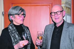 Christine Schmidt-Günther und Urs Dörig.(Bild: kp)