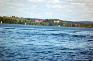 Der Bodensee hat eine sehr gute Wasserqualität. (Bild: archiv)