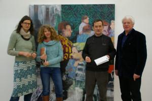 Anne Lorenz, Rachel Lumsden, Richard Tisserand und Karl Studer freuen sich auf die neuen Ausstellungen. (Bild: Thomas Martens)