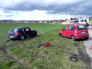 Die beiden Autos nach der Kollision. (Bild: Kapo TG)