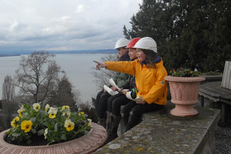 Auf eine spannende Entdeckunsgreise können sich Kinder im Arenenberger Park machen. (Bild: zvg)