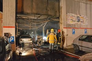 Beim Brand entstand Sachschaden von mehreren zehntausend Franken (Bild: Christa Altwegg/Kapo TG)
