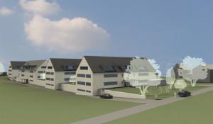 Visualisierung des Projekts von Martin Fromer und Andreas Imhof. (Bild: zvg)