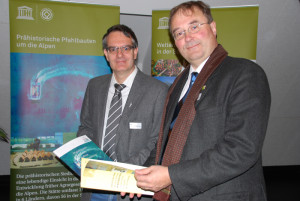 Urs Leuzinger (links) und Hansjörg Brem vom Amt für Archäologie des Kantons gehörten mit zum Expertenteam, das die Studie begleitete. (Bild: Thomas Martens)