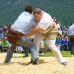 Bald geht es auch in Lengwil rund am Kantonalen Schwingfest. (Bild: zvg)