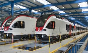 Stadler-Rail, Industrie-Vorzeigeunternehmen im Thurgau. (Bild: Stadler Rail)