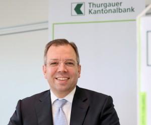 TKB-CEO Peter Hinder. (Bild: TKB)