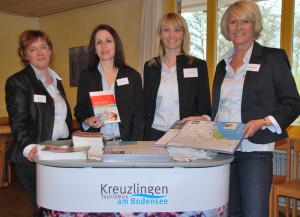 Auch 2013 hat das Geschäftsstellen-Team (v.l.) Christine Gräser, Patrizia Punzi, Geschäftsführerin Nicole Esslinger und Ingrid Bellagio viel vor. (Bild: Thomas Martens)