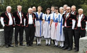 Als Vorboten des Jodlerfestes treten im Karussell die Berner Jodler aus Kreuzlingen auf. (Bild: zvg)
