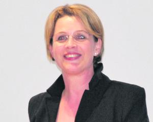 Die Präsidentin der VSG Tägerwilen, Karin König-Ess. (Bild: tm)