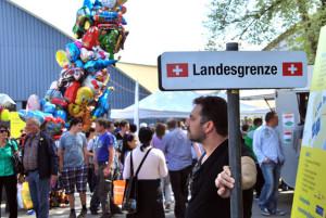 Die Tage der grenzüberschreitenden Gewerbemesse sind gezählt. (Bild: archiv)