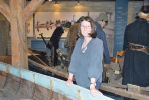 Frauke Dammert freut sich über die neue Herausforderung als wissenschaftliche Mitarbeiterin im Seemuseum. (Bild: Thomas Martens)