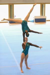 DieFrauen sind auch als Akrobatikduo «Corinne &Kerstin» bekannt. (Bild: Mohrfoto.ch)