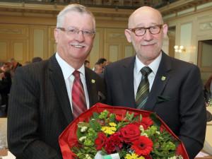Bernhard Koch und Bruno Lüscher. (Bild: Mario Gaccioli)