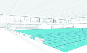 Visualisierung des neuen Beckens. (Bild: sb)
