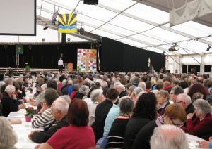 Über 2000 Gäste kamen zum Kirchensonntag. (Bild: zvg)