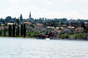 Seeblick auf Altnau. (Bild: archiv)