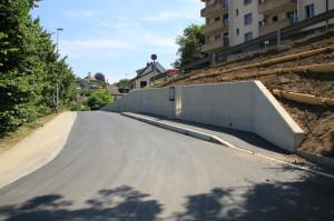 Sicherer und komfortabler: die neue Bushaltestelle Graneggstrasse. (Bild: zvg)