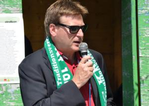 Der Präsident des FC Kreuzlingen, Daniel Geisselhardt. (Bild: Archiv)