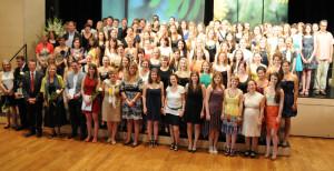 Die frisch diplomierten Lehrpersonen der Pädagogischen Hochschule Thurgau. (Bild: zvg)