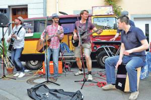Die Ärzte-Band «Zim und Zucker» spielt beim Gassen-Freitag. (Bild: zvg)
