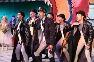 An der See-Burgtheater-Premiere der Dreigroschenoper am Kreuzlinger Bodenseestrand. (Bild: zvg)