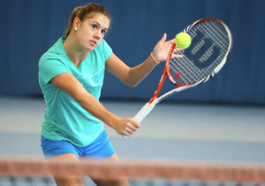 Nina Stadler spielt für den TC Seeburg-Hörnli jetzt in der NLA. (Bild: Maria Gaccioli)