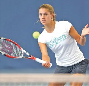 Nina Stadler gewann ihr Einzel. (Bild: Mario Gaccioli)