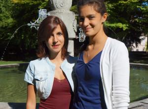 Angelica Mastro (links) und Federica Amati. (Bild: zvg)