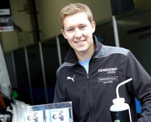 Philipp Frommenwiler startet auf dem Nürburgring. (Bild: Alexander Trienitz)