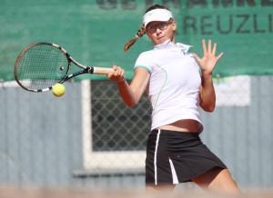 Für die Einheimische Anna Gabric war die internationale Turnierwoche in Kreuzlingen ein voller Erfolg. (Bild: Mario Gaccioli)