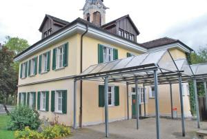 Der Hort Bernegg befindet sich seit diesem Sommer im Schulhaus Weinburg. (Bild: Thomas Martens)