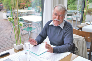 Dr. Jürg Morf stellte gestern das neue Programm der VHSK vor. (Bild: kb)
