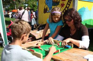 Viele Mitmachaktionen bieten sich beim Kinderfest am Samstag in Konstanz. (Bild: Hanser)