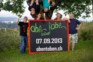 Das OK (v.l.) Fabian Schläpfer, Johannes Ammann, Patrick Schweizer, Timon Schwarz, Markus Thalmann und Benjamin Knaus. (Bild: zvg)