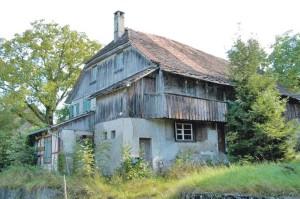 Das Haus vor der Renovation ... (Bild: zvg)