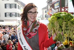 Stephanie König ist neue Thurgauer Apfelkönigin. (Bild: Mario Gaccioli)