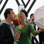 Gäste der Vernissage im Kunstraum. (Bild: sb)