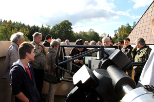 Die Vereinsreise der Astronomischen Vereinigung Kreuzlingen führte die Teilnehmer u.a. zur Sternwarte Eschenberg. (Bild: zvg)