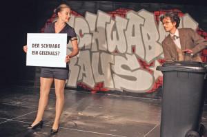 Susanne Theil und Mattis Nolte spielen in der «Schwabenhatz» mit. (Bild: zvg)