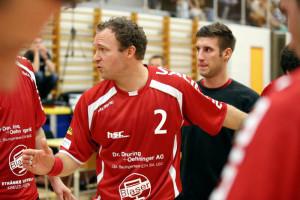 Trainer Tobias Eblen konnte diesmal nicht zufrieden sein. (Bild: Gaccioli)