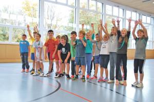 Die «Open Sundays» richten sich an Jungen und Mädchen der 1. bis 6. Klassen. Im Bild: Die 4. Klasse von Daniel Jaag der Schule Seetal. (Bild: kb)