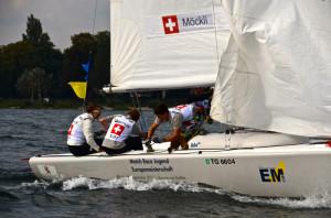 Das Schweizer Team von Nicola Möckli aus Steckborn. (Bild: zvg)