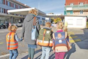 85 Primarschüler aus der Schweiz haben im Schuljahr 2012/13 Konstanzer Primarschulen besucht. (Bild: Thomas Martens)