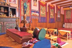Blick in das Tibetisch-Buddhistische Zentrum in Kreuzlingen. (Bild: zvg)