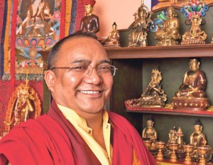 Leiter Ew. Lama Kunsang Rinpoche. (Bild: zvg)