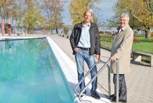 Felix Lenz (l.) und Jürg Schlatter.(Bild: kb)