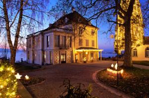 Weihnachtliches Schloss Arenenberg. (Bild: zvg)