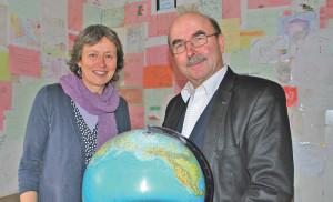 Dominique Knüsel und Karl Kohli vom Verein AGATHU. (Bild: Thomas Martens)